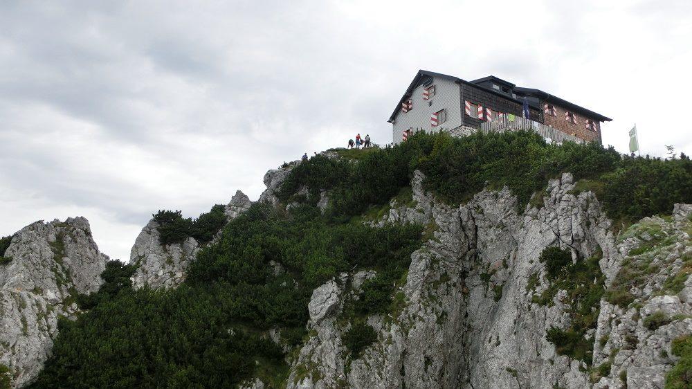 Traunstein via Naturfreundesteig 1691m
