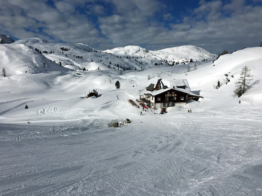 Skitour Gjaid Alm