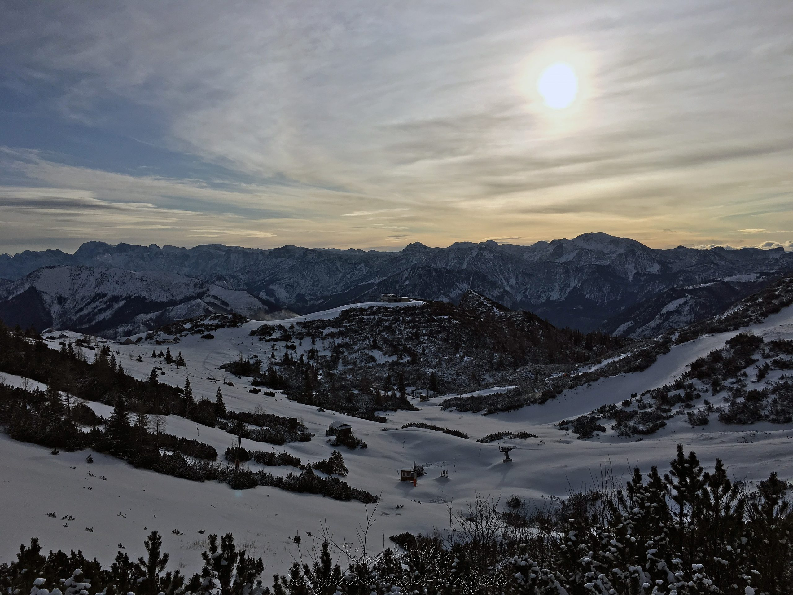 Skitour Helmeskogel